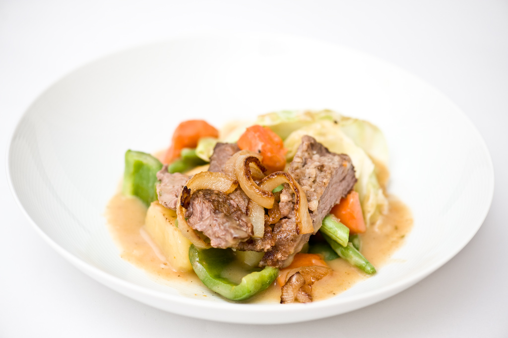 Quick Stew with Caramelized Vegetables & Bavette/Flap ...