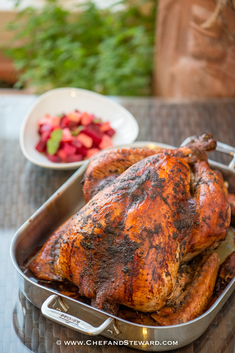 How To Roast A Jamaican Jerk Turkey To Spice Up Your Christmas Or Holiday Table Chef And Steward 174